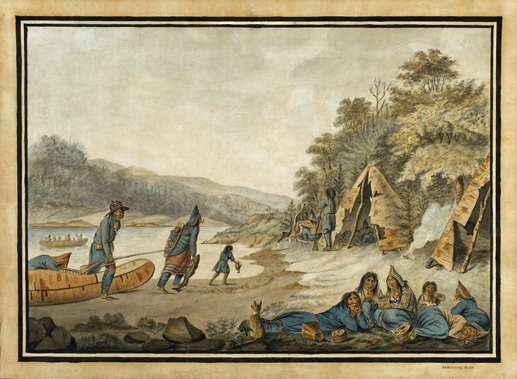 Mikmaq_Encampment-from-francoamericangravy