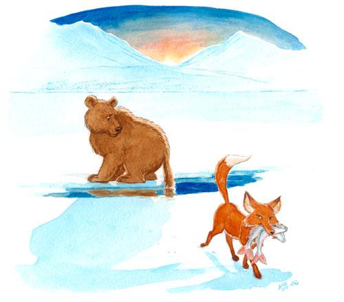 Björnen och räven